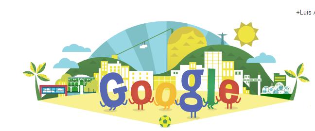 Google celebra el Mundial Brasil 2014