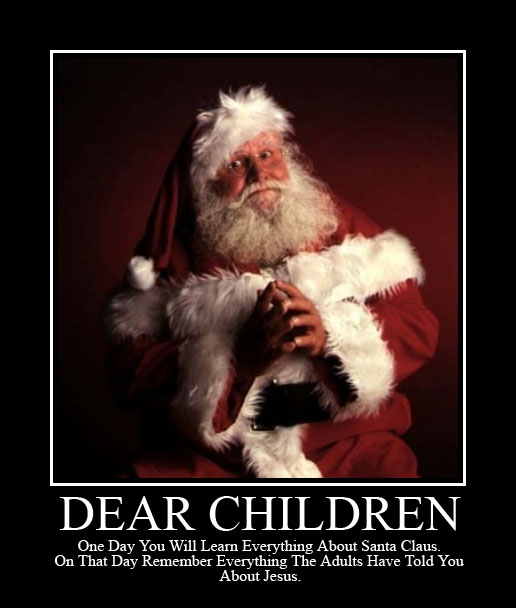 Do not be surprised is santa claus a theological threat its true letters to santa and fabricated elf sightings may help your child to behave better for a few fleeting weeks but what is being simultaneously spiritdancerdesigns Gallery