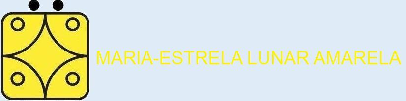 Maria Estrela Lunar Amarela