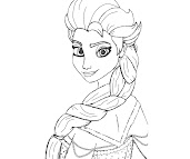 #4 Disney Frozen Coloring Page