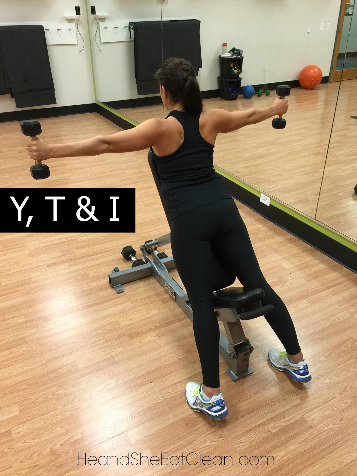 Y, T & I Shoulder Exercise