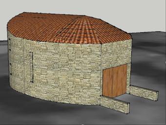 Casa típica Pedrinhas&Cedovém