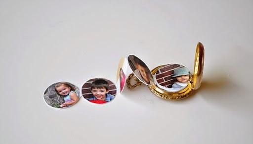Reloj con fotos es Recicla Inventa