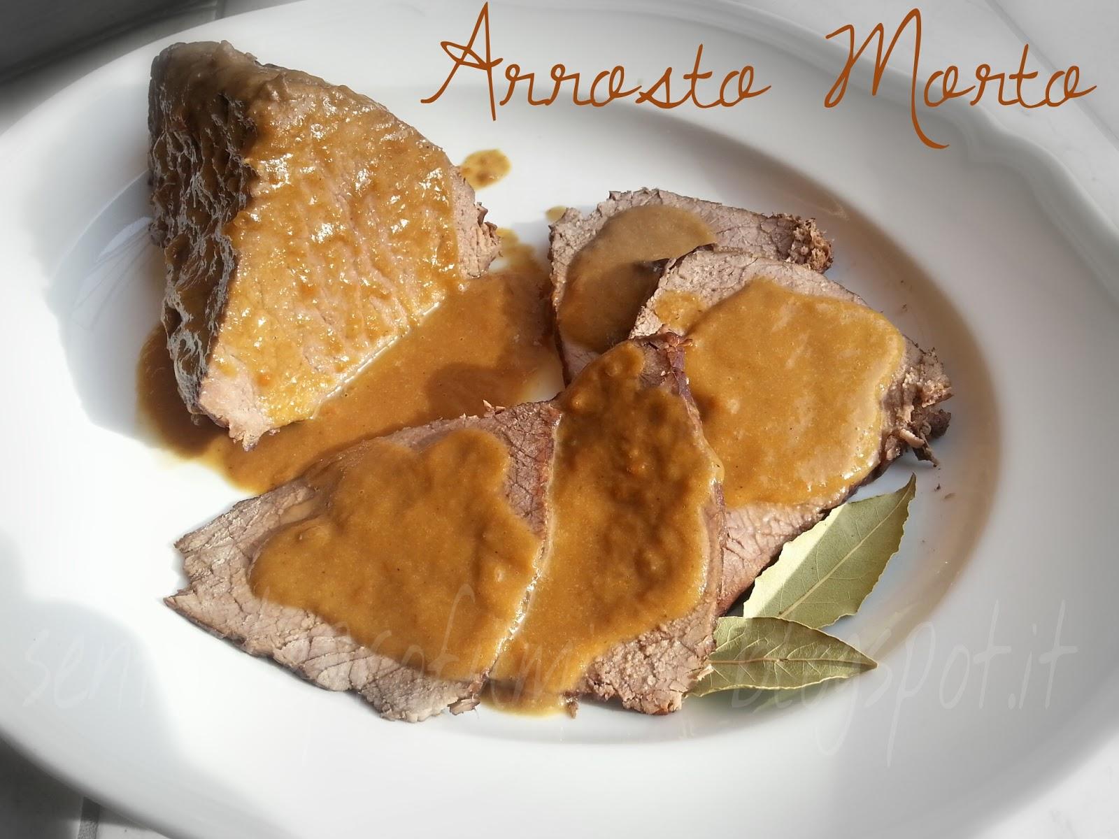 Arrosto morto, Cucina tradizionale Toscana