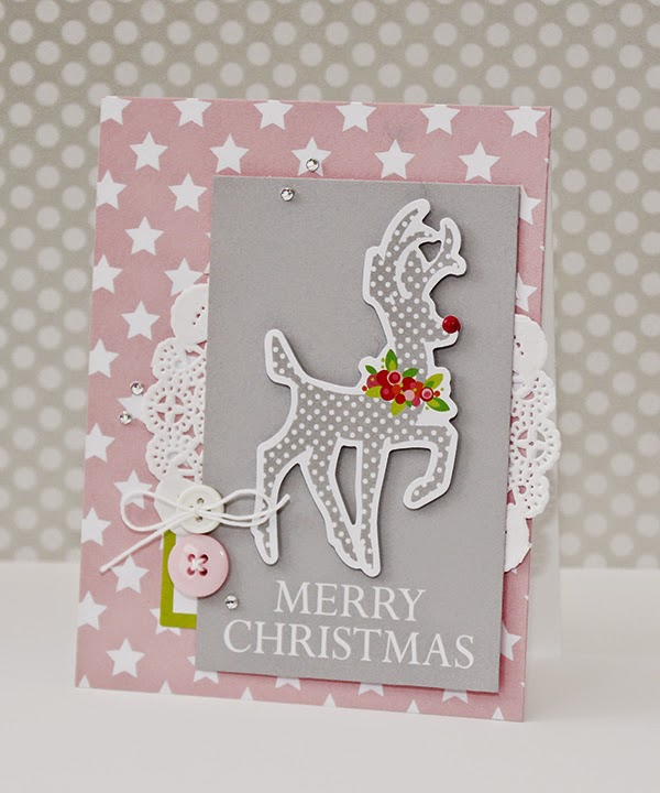 Erin Taylor Chickaniddy Crafts Christmas Card