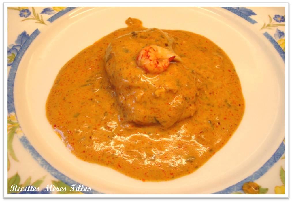 La recette poisson blanc lotte l 39 armoricaine blogs - Lotte al armoricaine recette cuisine ...