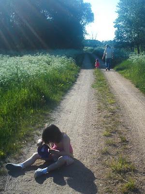 w Kleszczelach spacer na Jasia
