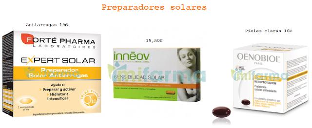 Preparadores solares