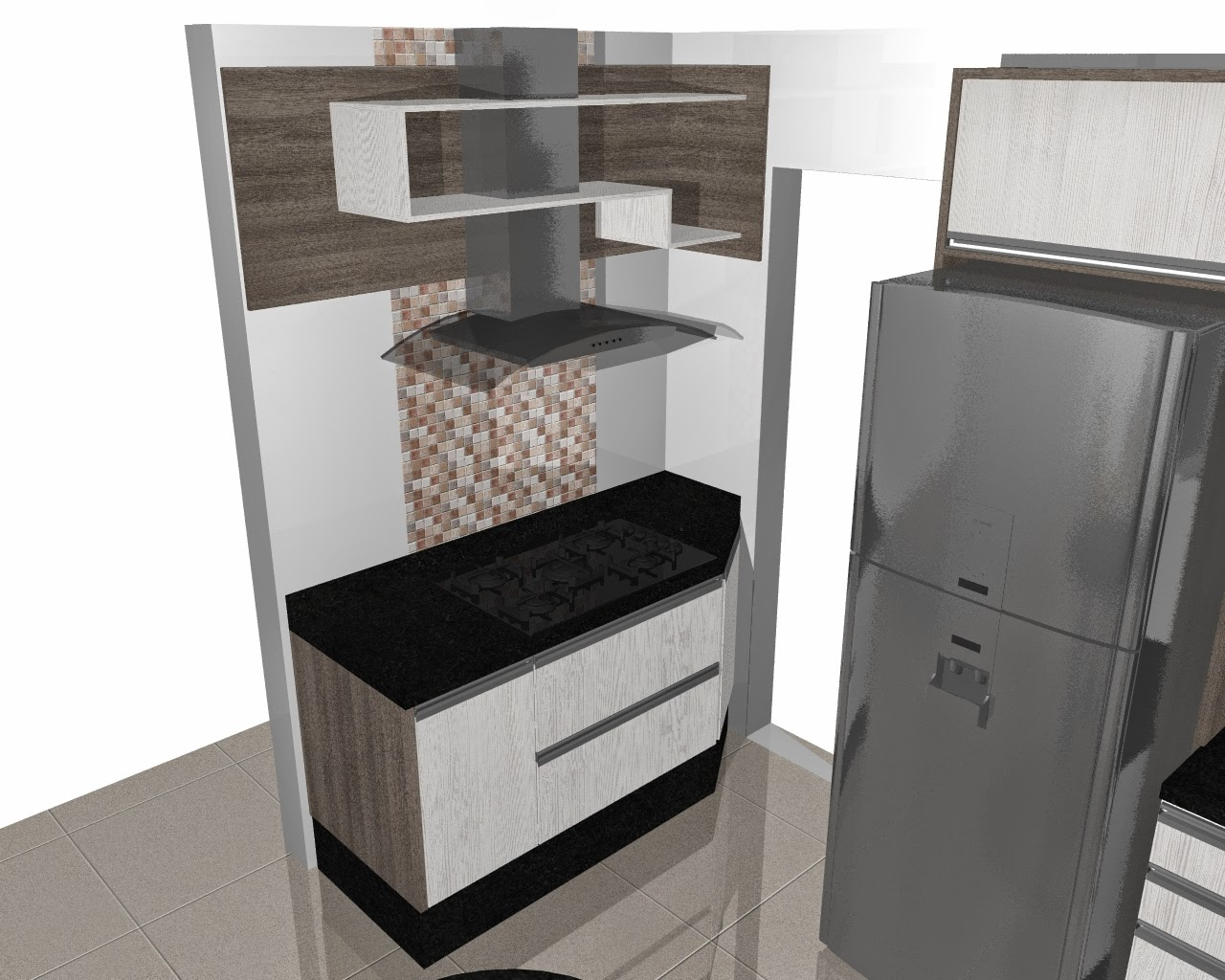Ambientes Planejados: Quer uma Cozinha Planejada diferente e moderna  #5B4F48 1280x1024