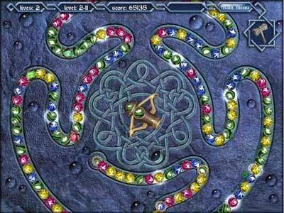 لعبة تصويب الكرات Mythic Pearls للكمبيوتر