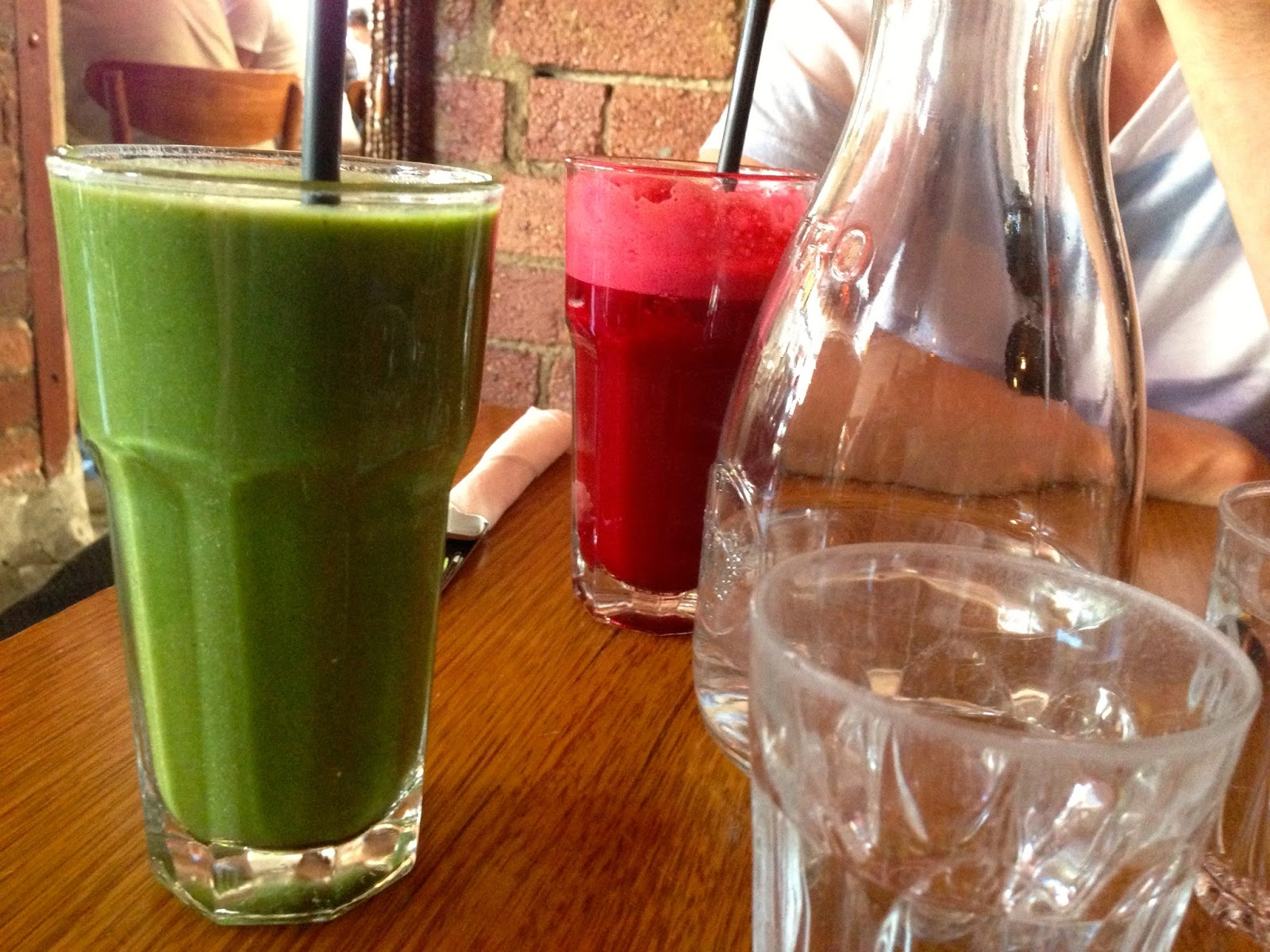 Vegie Bar, Fitzroy - Green smoothie and Cleansing juice