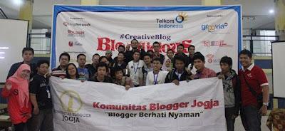 Resolusi 2013 Komunitas Blogger Jogja