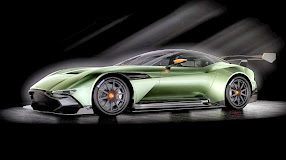 Aston Martin Vulcan Prepares for Take-Off