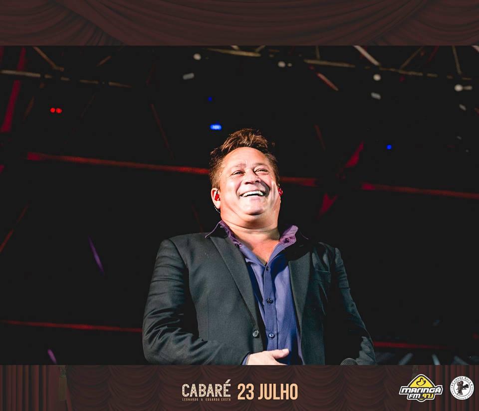 Cabaré Leonardo Eduardo Costa em Maringá/PR23 07 2016