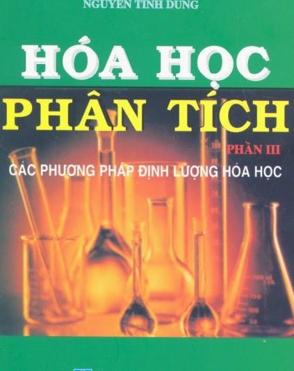 Ebook Hóa Học Phân tích III của Nguyễn Tinh Dung
