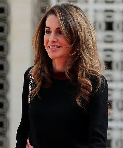 Queen Rania Family Queen Rania attend the...