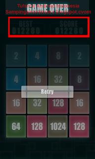 Aplikasi Permainan Asah Otak Di Android 2048 Glow