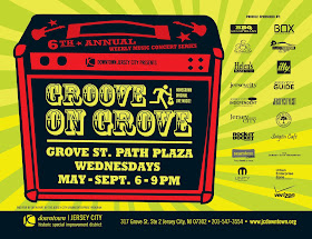 Groove on Grove : Jersey Beat Showcase
