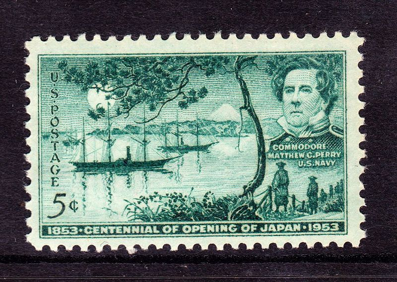commodore perrys journey to japan The reason commodore perry made this journey was to trade with foreigners (japanese), to replenish their coal supplies for their steam-powered boats and to treat injured people from whaling shipwrecks.