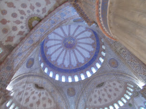 """Dome of the """"Sultan Ahmed Mosque(Blue Mosque)"""""""