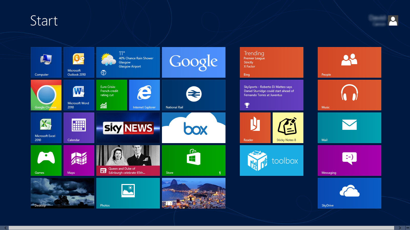 Cara Merubah Tampilan Start Screen Windows 8