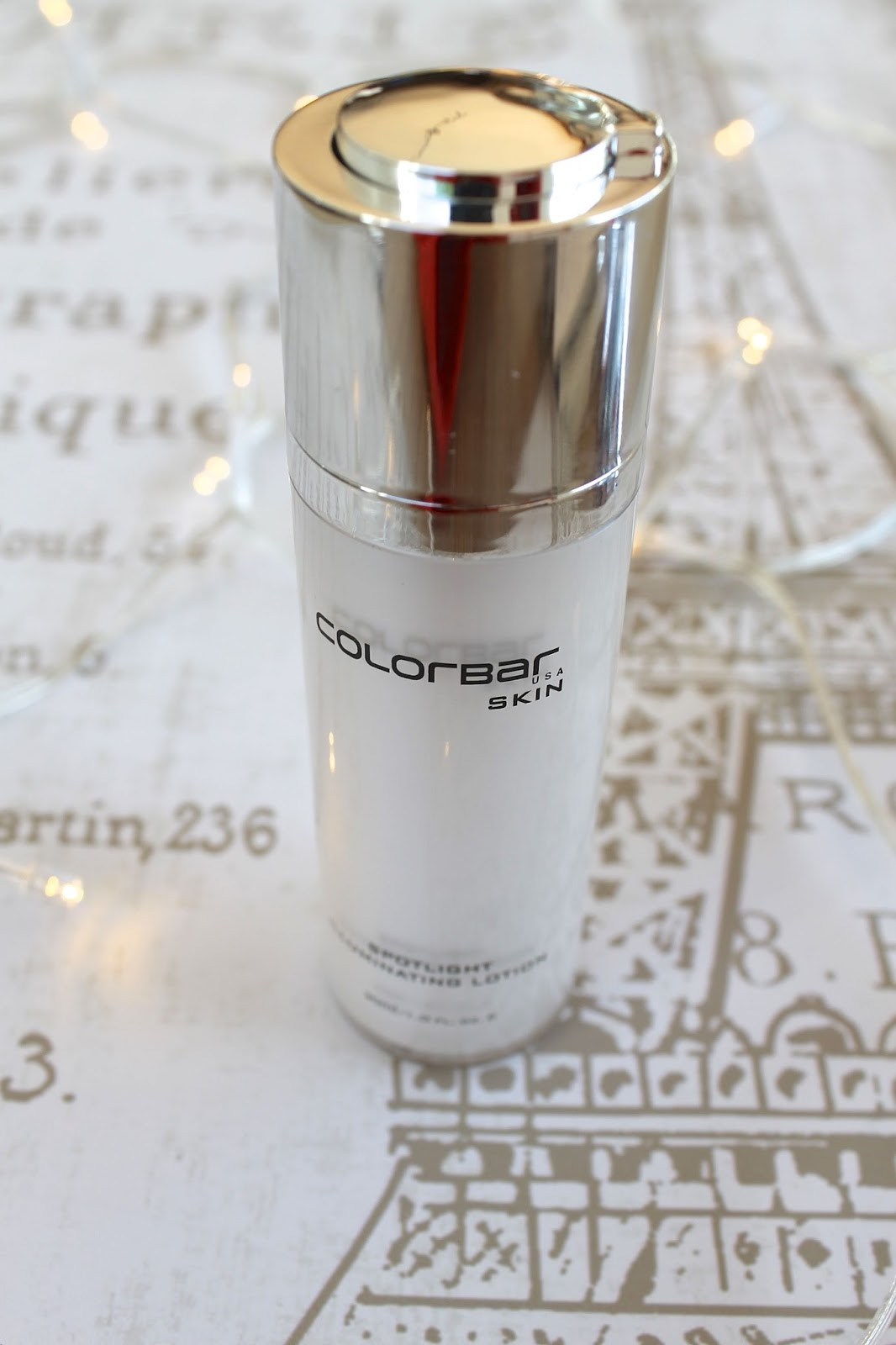 Colorbar cosmetics illuminating lotion