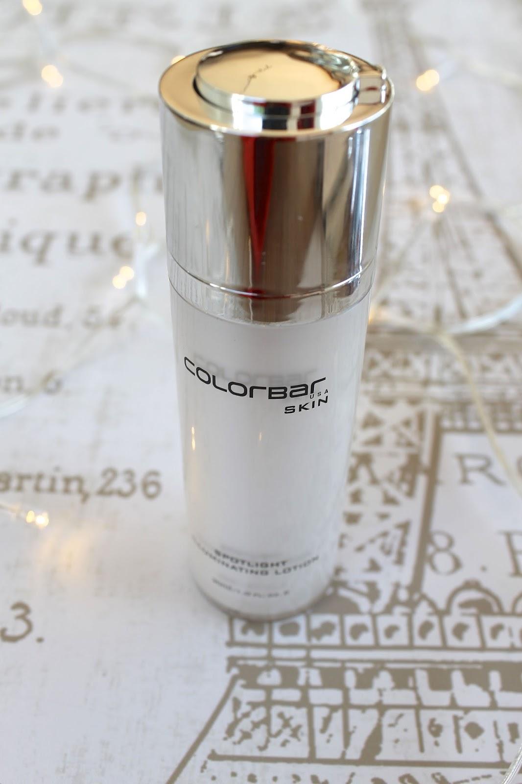 Colorbar cosmetics illuminating lotion