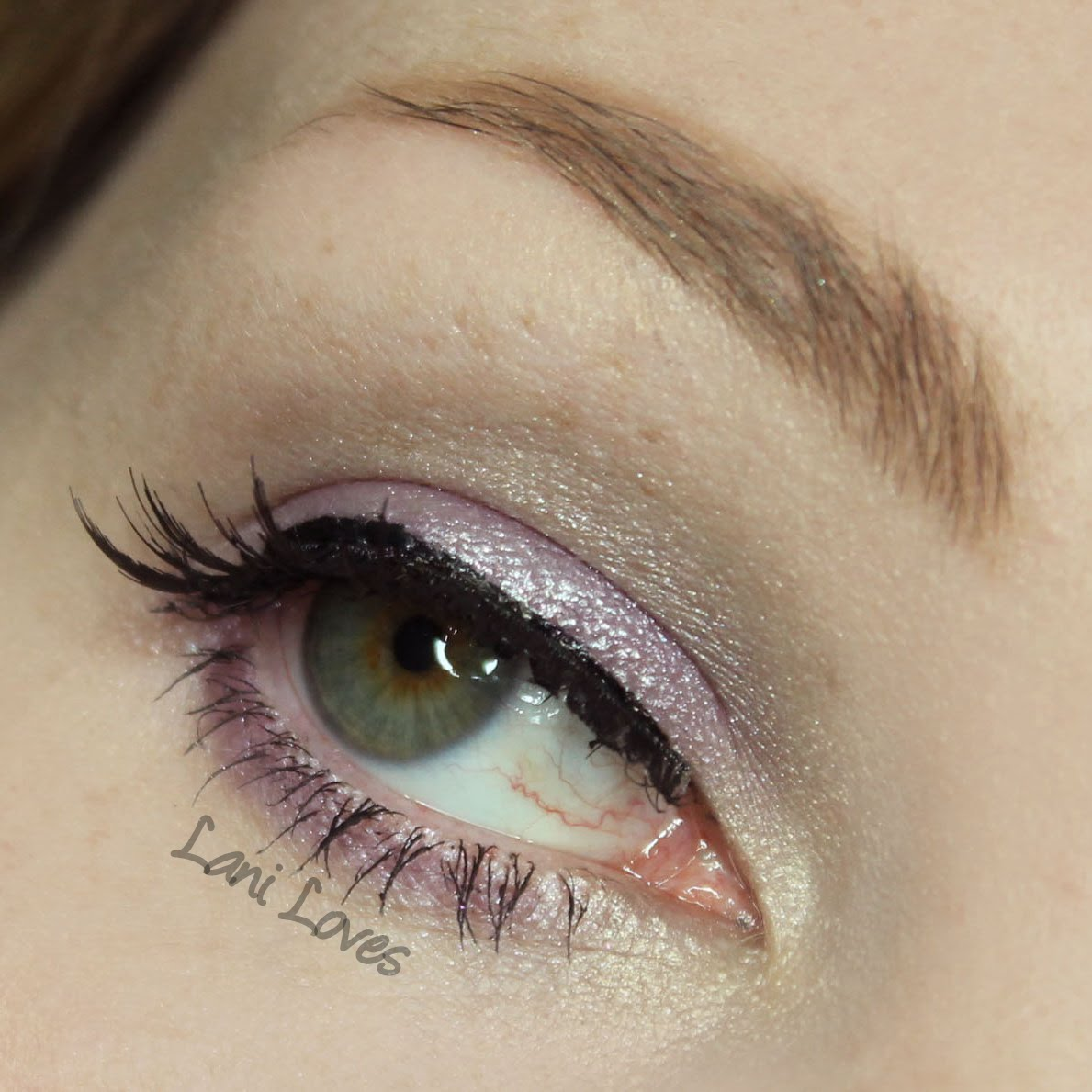 ZA Impact-Full Eyes Groovy Limited Edition Pure Silver eyeshadow palette swatches & review