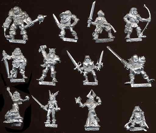 Dungeonquest expansion models