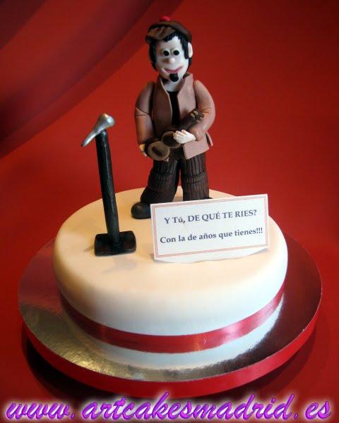 El club de la comedia, tarta cumpleaños
