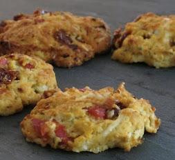 Cookies Tomates séchées et chorizo