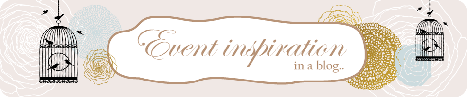 Event inspiration in a blog...