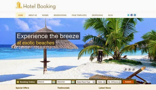 Hotel Booking Templatic Wordpress Theme Version 1.1.1 free