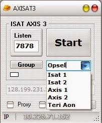 Inject Axis Indosat Three