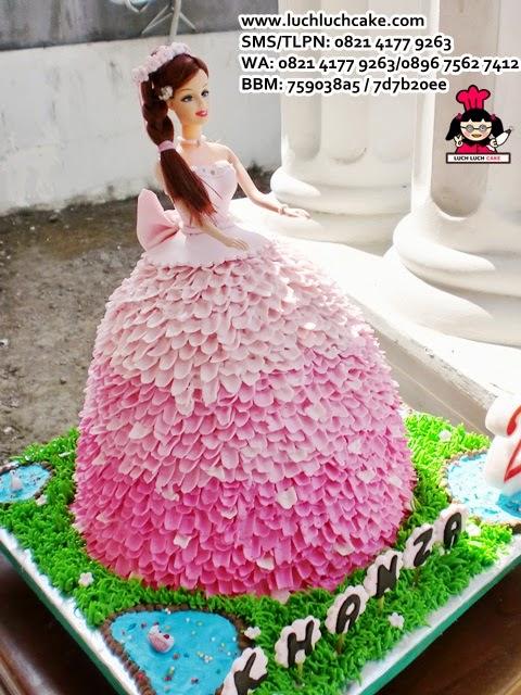 kue barbie cantik