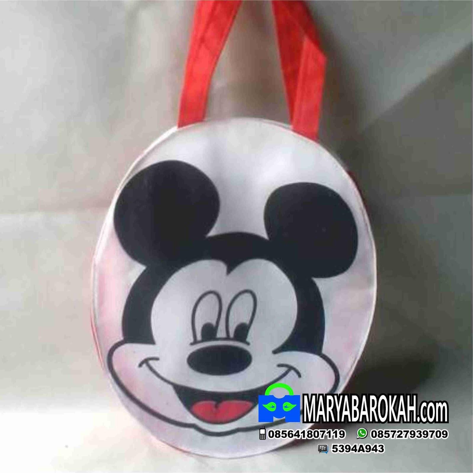 Tas Ultah Anak Tenteng Mickey Produsen Pakai Sablon Nama Rp 500