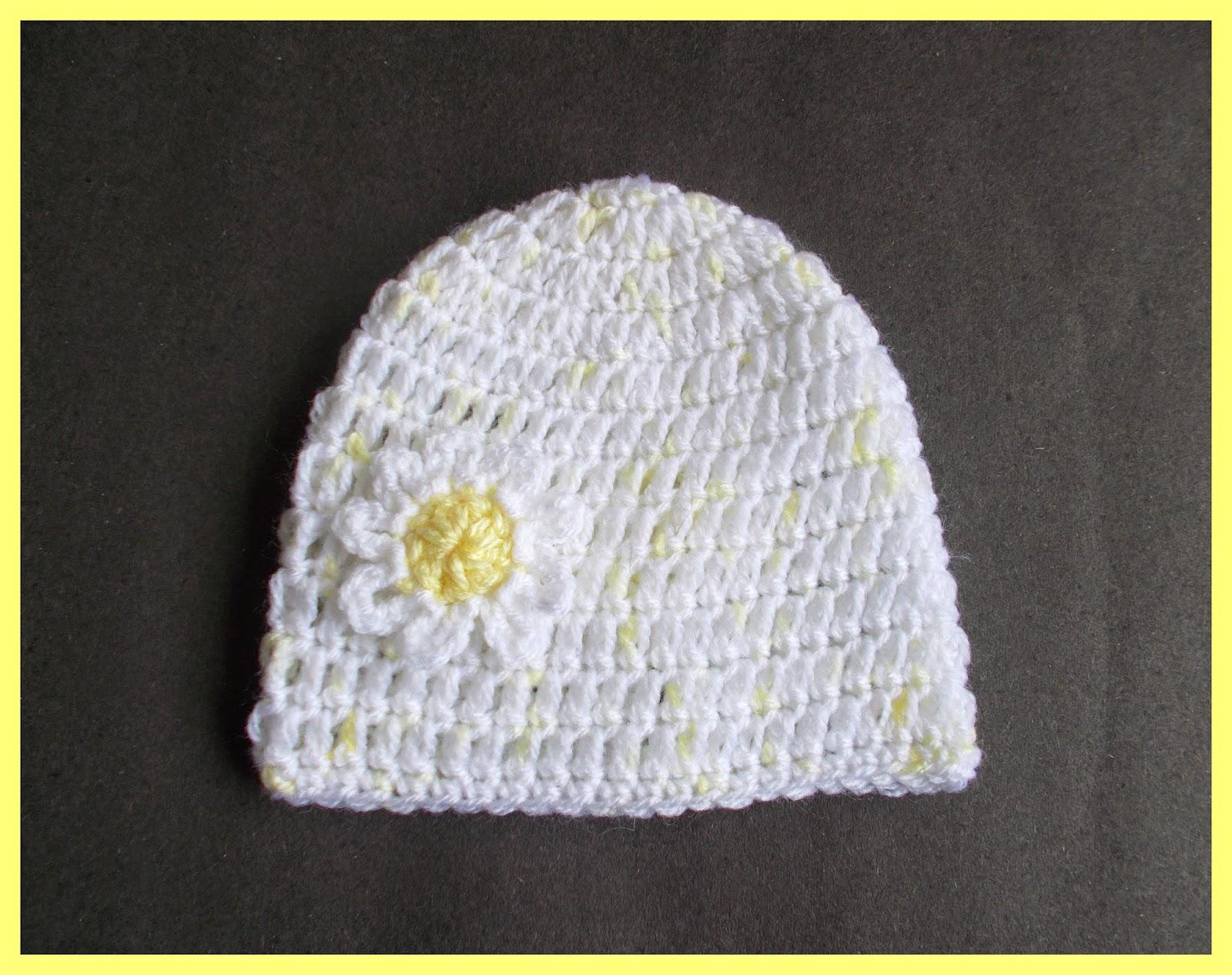 mariannas lazy daisy days: Daisy Baby Hat