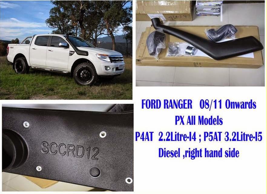 สน็อกเกิ้ล ฟอร์ด เรนเจอร์ Snorkel Ford Ranger ฟอร์ด เรนเจอร์ สน็อกเกิ้ล