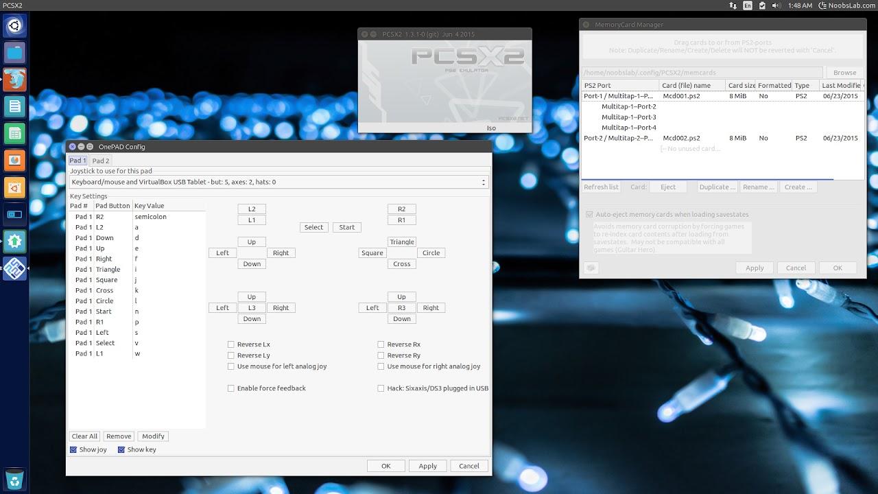 Emulate PS2 Games on your Ubuntu/Linux Mint using PCSX2 Emulator