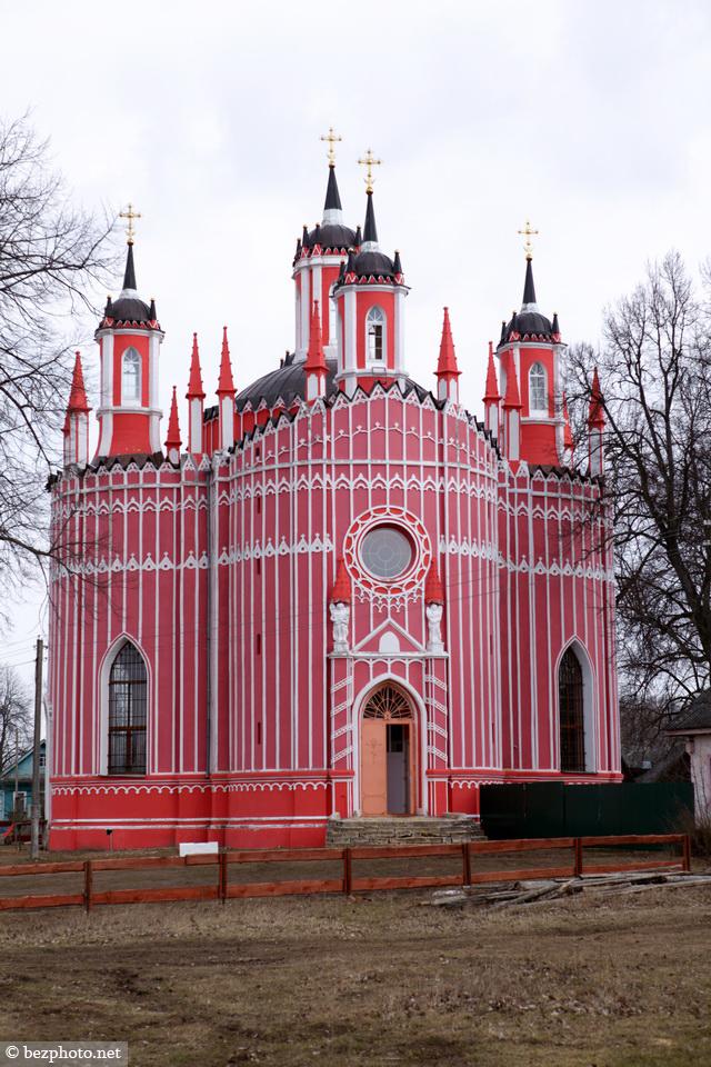 храм преображения господня село красное