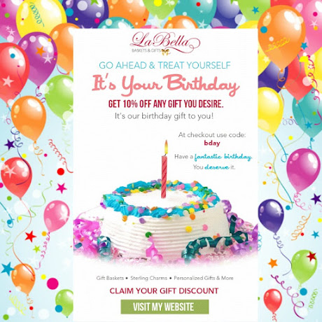 Happy Birthday Gift - Save 10% OFF