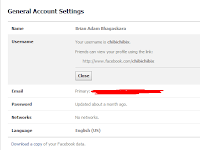 Cara Mengganti Username Facebook Yang Sudah Limit