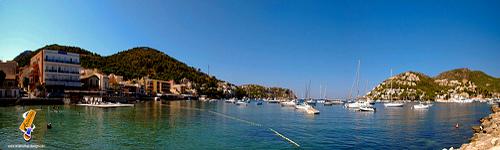 Vistas del puerto de Andratx - Mallorca