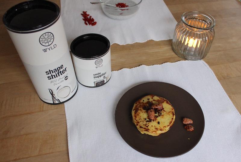 3 easy protein breakfast ideas WYLD protein pancakes banana egg