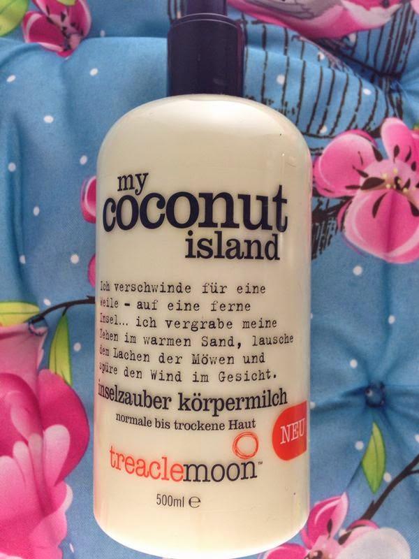 """Treaclemoon - """"My coconut Island"""" Körpermlich - www.annitschkasblog.de"""