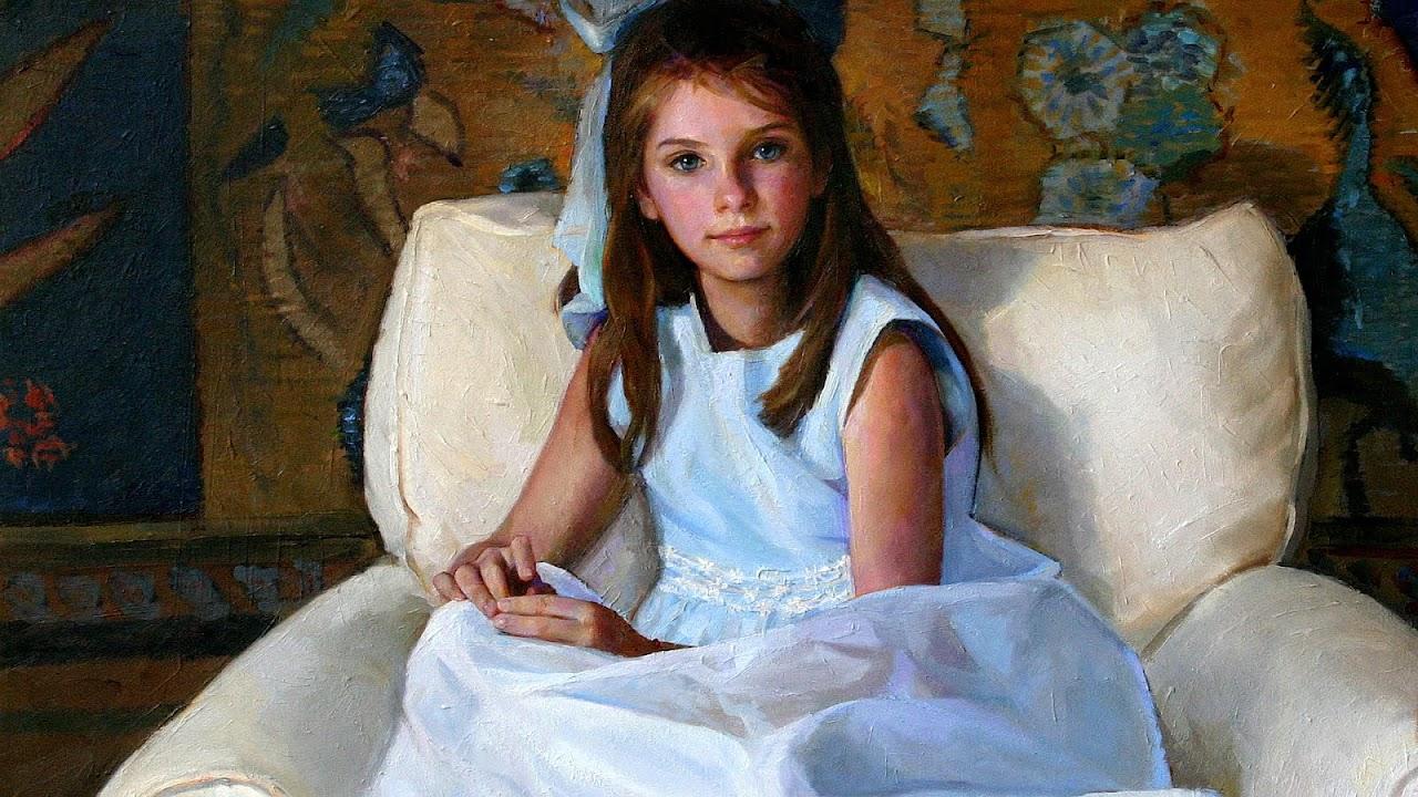 Portrait Paintings Of Children