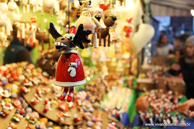 Tradicional Mercado de Natal em Firenze  Viva Toscana