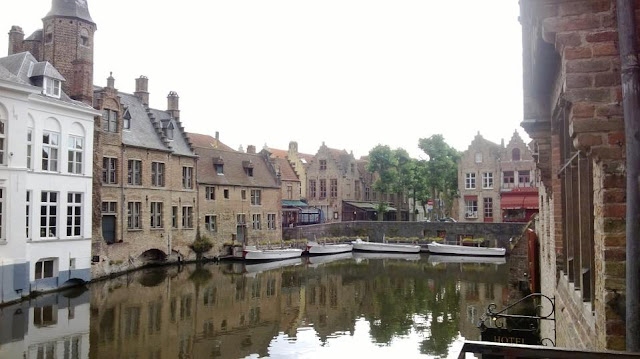 Canals of Bruges, Sunday morning without the crowds.