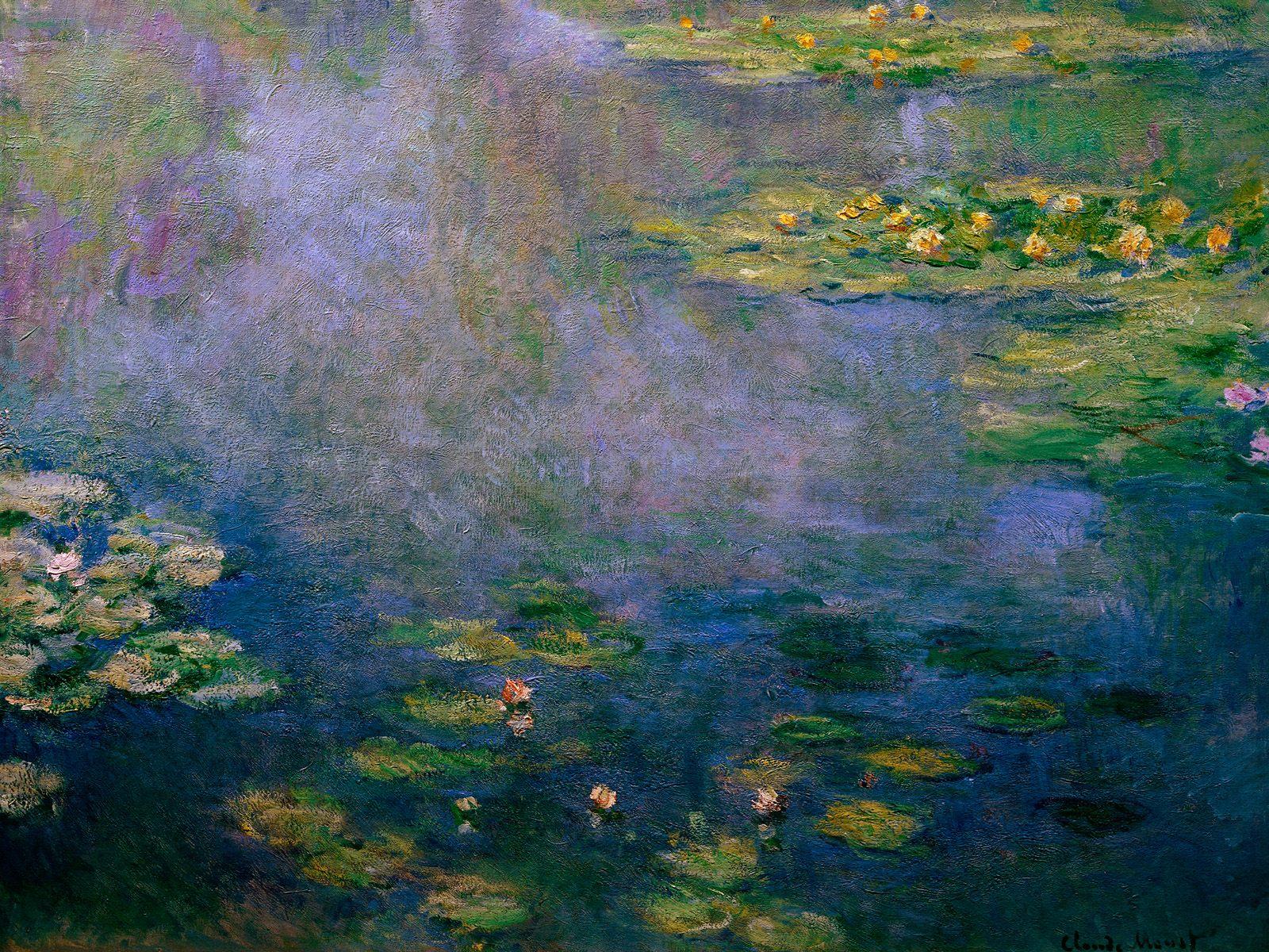 Jardins de Monet Pintura Pintura de Claude Monet