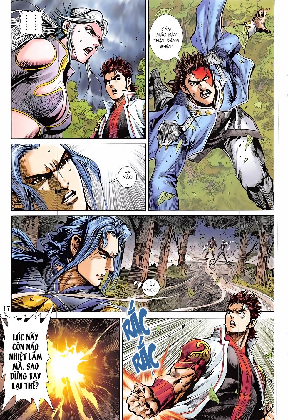 Thần Chưởng trang 17